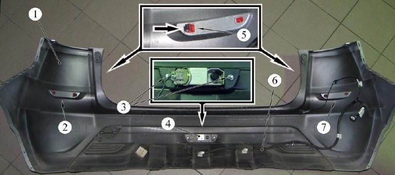 Как снять передний и задний бамперы Lada Xray