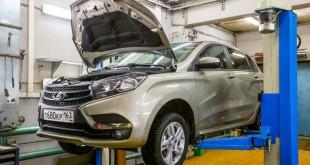 Обслуживание и ремонт Lada Xray