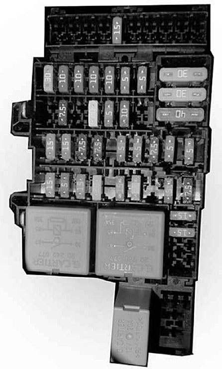 Схема реле и предохранителей Lada XRAY
