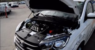 Установка упоров капота на Lada Xray. Видео