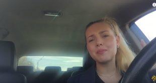 """Бабский"" тест-драйв Lada Xray из прошлого..."