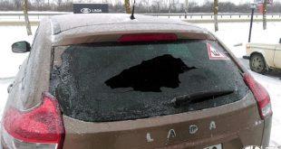 Почему лопнуло заднее стекло на Lada XRAY