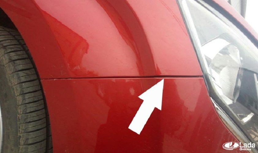 Как отрегулировать зазоры переднего бампера на Lada XRAY