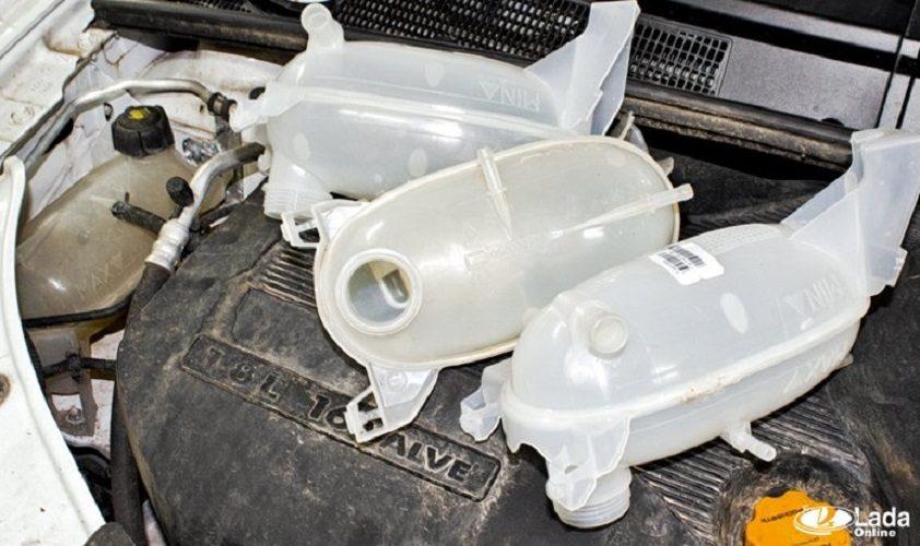 Почему лопаются расширительные бачки Lada XRAY и как этого избежать