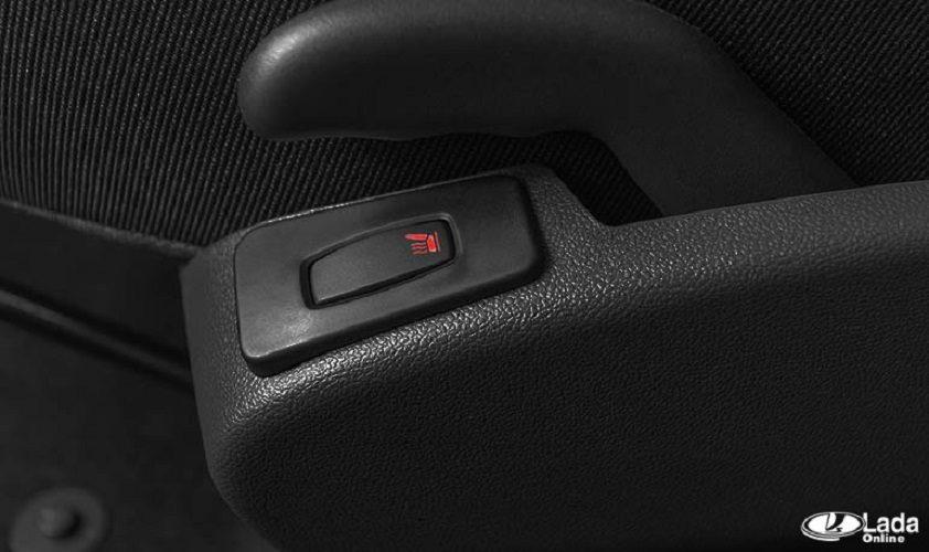 Подсветка кнопок подогрева сидений Лада XRAY