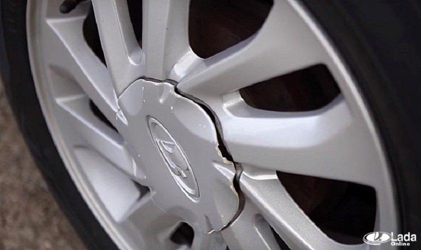 Колпачки ступицы диска на автомобилях Lada Xray