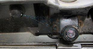 Установка омывателя камеры заднего вида на автомобили Лада