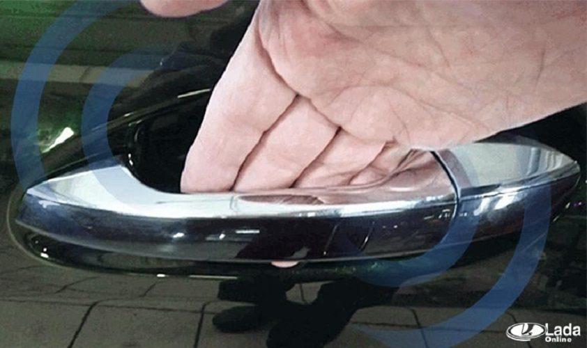 Доработка автомобиля Lada сенсорами (управление замками)
