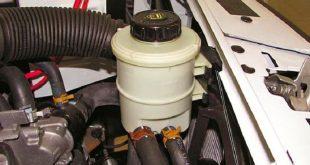 Как прокачать систему гидроусилителя руля на автомобилях LADA
