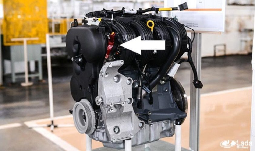 Замена и проверка клапана изменения фаз газораспределения на LADA