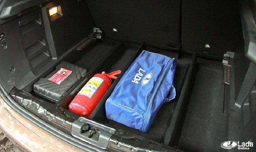 Обзор и отзывы об органайзере для багажника LADA XRAY