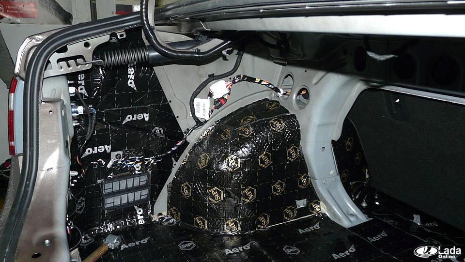 Правильная шумоизоляция багажника автомобиля своими руками