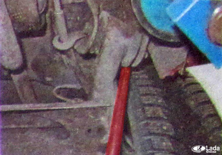 Диагностика задней подвески Lada XRAY