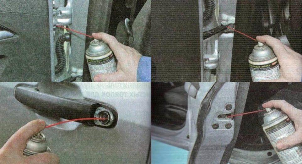 Обслуживаем дренажные отверстия и арматуру кузова на LADA