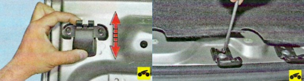 Регулировка замка багажника на LADA своими руками