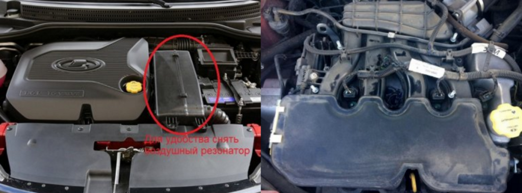 Замена шланга электромагнитного клапана LADA