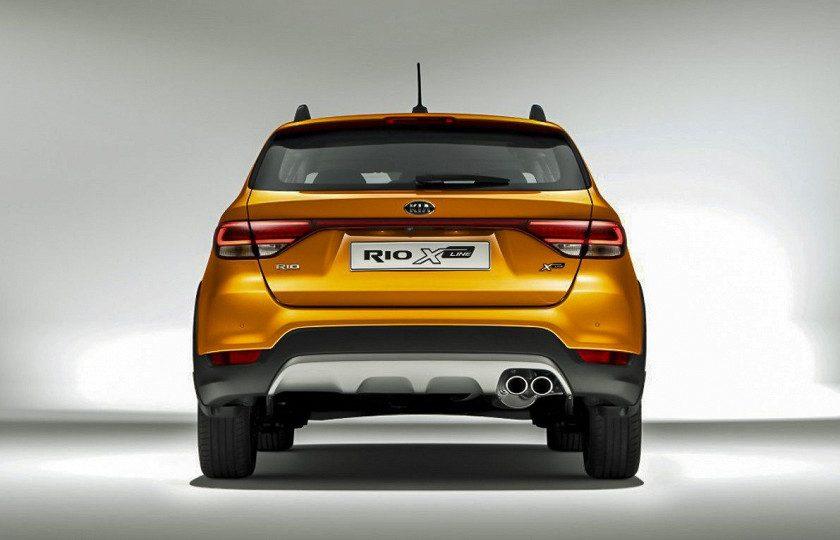 Kia Rio X-Line фото характеристики