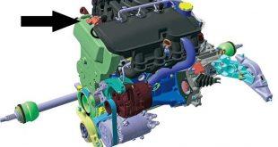 Проверка и замена электромагнитного клапана системы изменения длины впускного трубопровода LADA