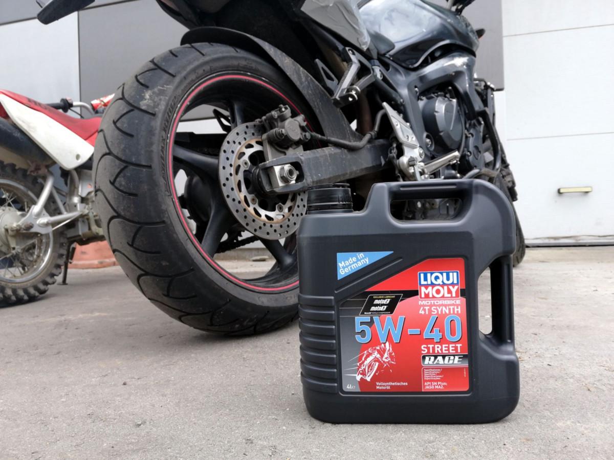 Как подобрать вилочное масло для мотоцикла?